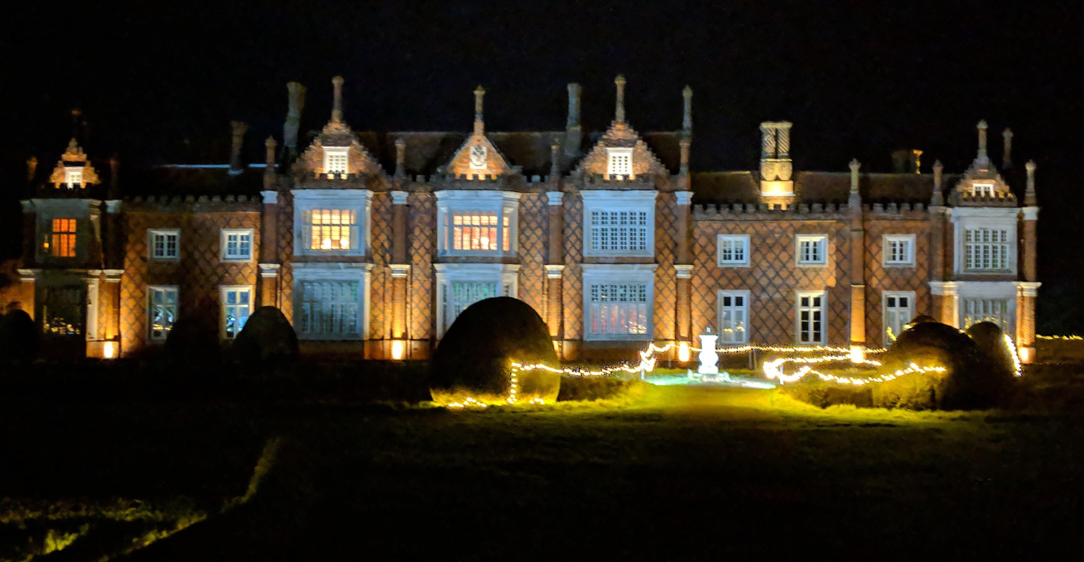 Illuminated Lights at Helmingham Hall